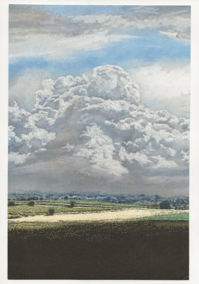Carl Gustav Carus. Wolkenspiel.